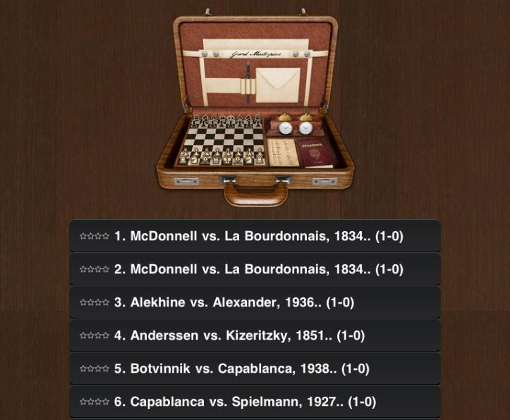 07 Chess Masterpiece