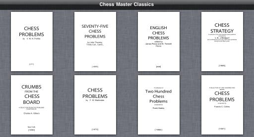 13 Chess Books  Chess Master Classics