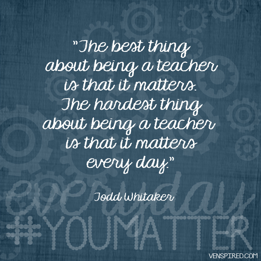 Thoughts And Guidelines For Preparing Teachers For School: The Most Inspiring Motivational Posters For Teachers
