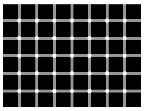 Spot the black dot