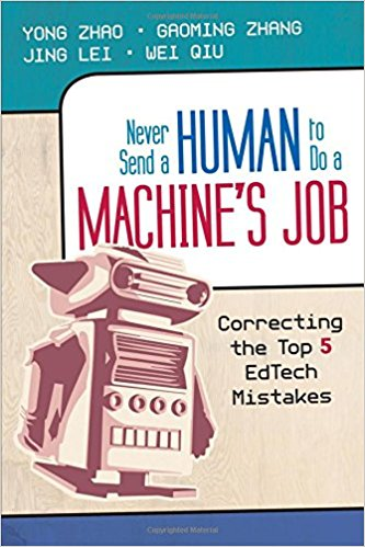 https://www.amazon.com/Never-Send-Human-Machines-Job/dp/1452282579